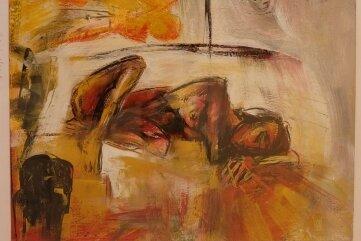 Ariadne, 2011, Tempera von Klaus Hirsch.