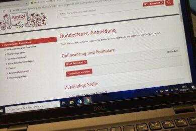 Hundehalter in der Gemeinde Reinsdorf können jetzt ihre Vierbeiner online an- und abmelden und auch die damit verbundene Hundesteuer bezahlen. Der digitale Service für die Einwohner soll ausgebaut werden.