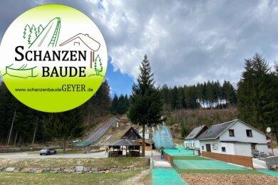 Es tut sich etwas im Greifenbachtal: Um die Übernachtungsmöglichkeiten in der Schanzenbaude publik zu machen, hat der Skisportverein ein Logo entwickelt.
