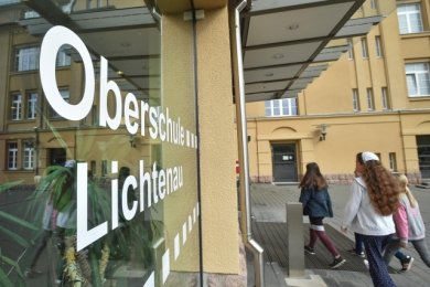 Die Teilnehmer der Umfrage loben den Zustand der Schulgebäude - wie hier die sanierte Oberschule Lichtenau.