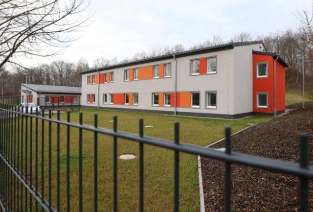 Das neue Asylbewerberheim auf dem Auersberg.