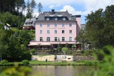 Hotel und Restaurant Goldner Anker in Bad Elster.