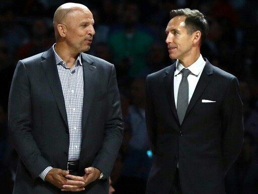 Kidd (l.) und Nash wurden in Hall of Fame aufgenommen