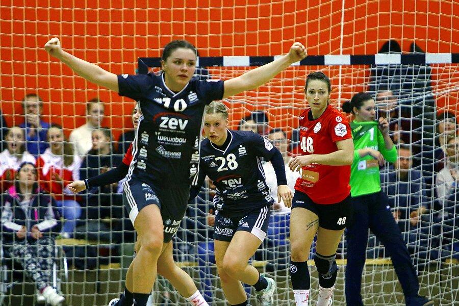 Heimsieg für Zwickauer Handballerinnen