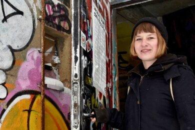 Elisa Grobe ist Linke-Stadträtin in Limbach-Oberfrohna und Mitglied einersozialen und politischen Bildungsvereinigung. Diese will ihr Quartier an der Dorotheenstraße öffentlich zugänglich machen.