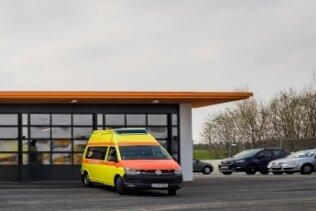 Von der Rettungswache an der B 180 aus soll die Notfallversorgung im Zwönitztal abgesichert werden.