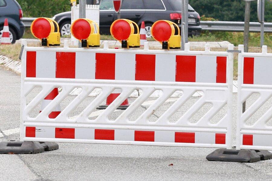 Brücke in Oberschöna wird bis November saniert - Straße gesperrt