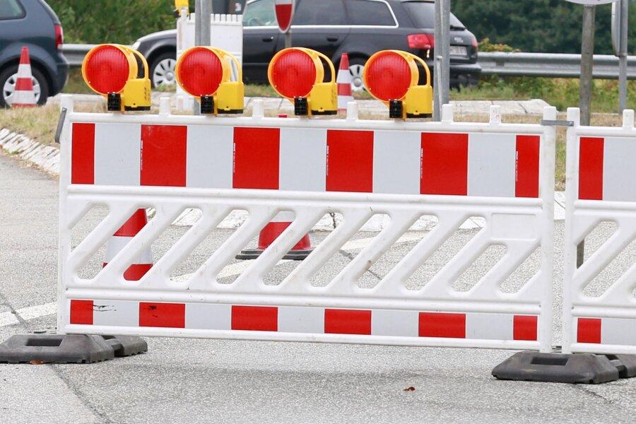 Ab Montag ist die Straße zwischen Erdmannsdorf und Augustusburg voll gesperrt.