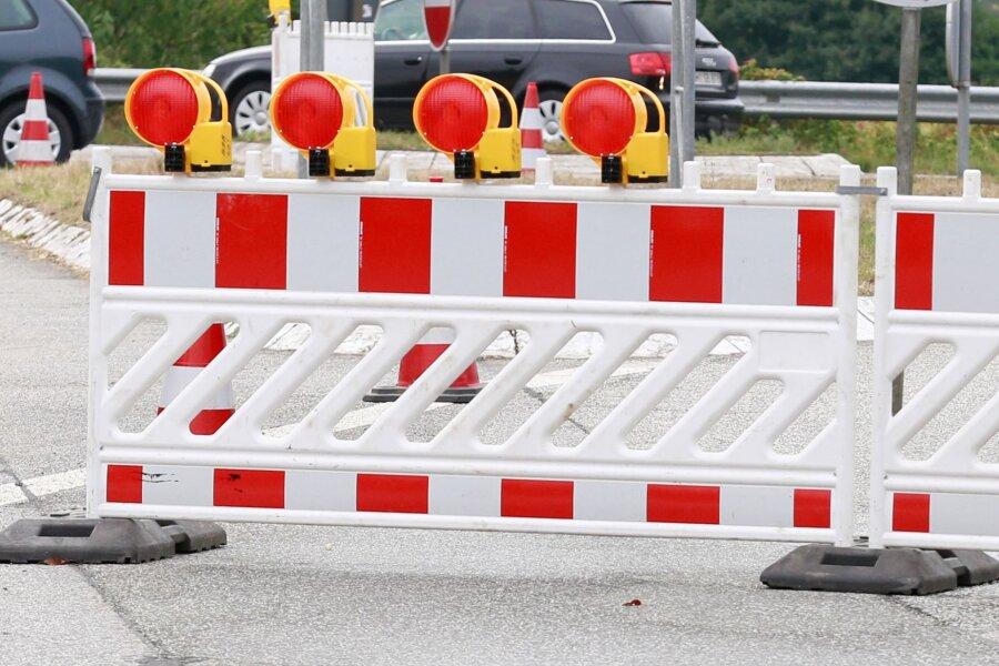 Straße zwischen Flöha und Grünberg ab Montag gesperrt