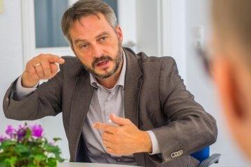 Thomas Kunzmann (Freie Wähler) will Bürgermeister bleiben.