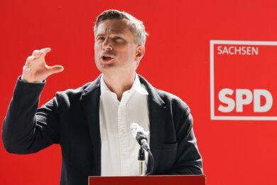 Sachsens Wirtschaftsminister und Vizeministerpräsident Martin Dulig (SPD).