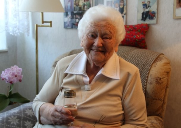 Dorothea Teichert aus Grünberg feiert am heutigen Donnerstag ihren 100. Geburtstag.