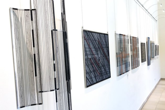 Metall-Textil-Kunst in Bad Elster!