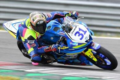 In der Internationalen Deutschen Motorradmeisterschaft ist Sarah Heide in allen Klassen gefahren. Das Foto zeigt sie im Vorjahr beim Auftaktrennen der Supersport-300-Serie im holländischen Assen.