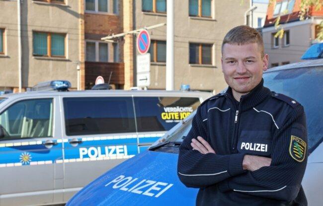 Vor dem Revier am Alten Steinweg: Kommissar Martin Richter.