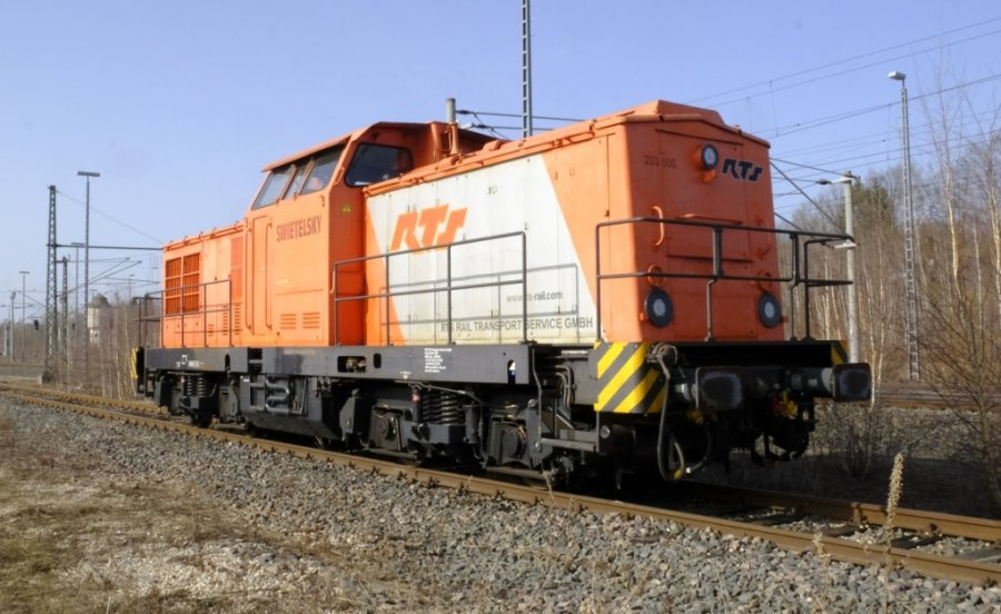 Vor Weihnachten in Reichenbach abgestellte Diesellok soll abgeholt werden
