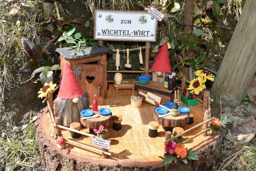 Der Mitmach-Wichtelwald in Adorf geht in die zweite Saison