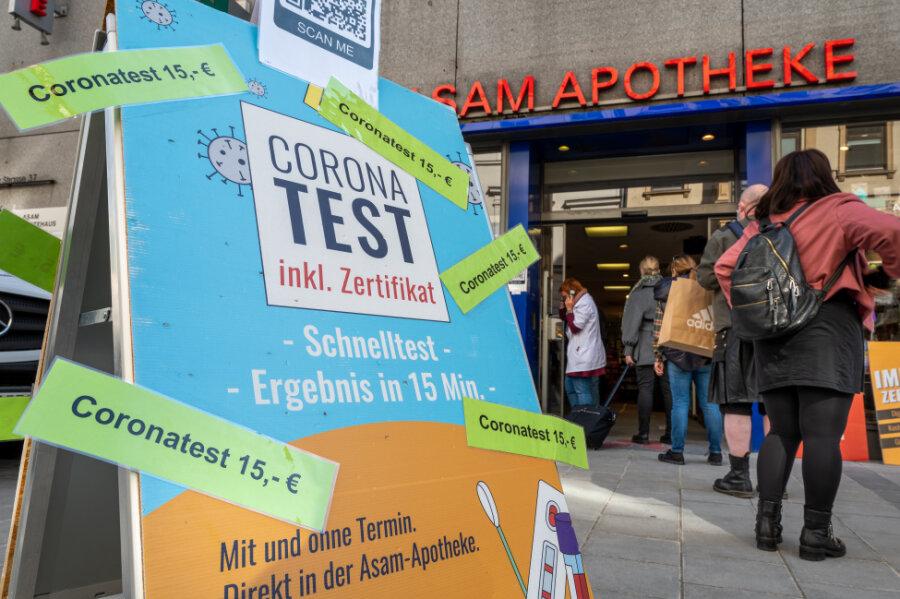Corona-Lage in Sachsen: So läuft es mit den Corona-Tests jetzt