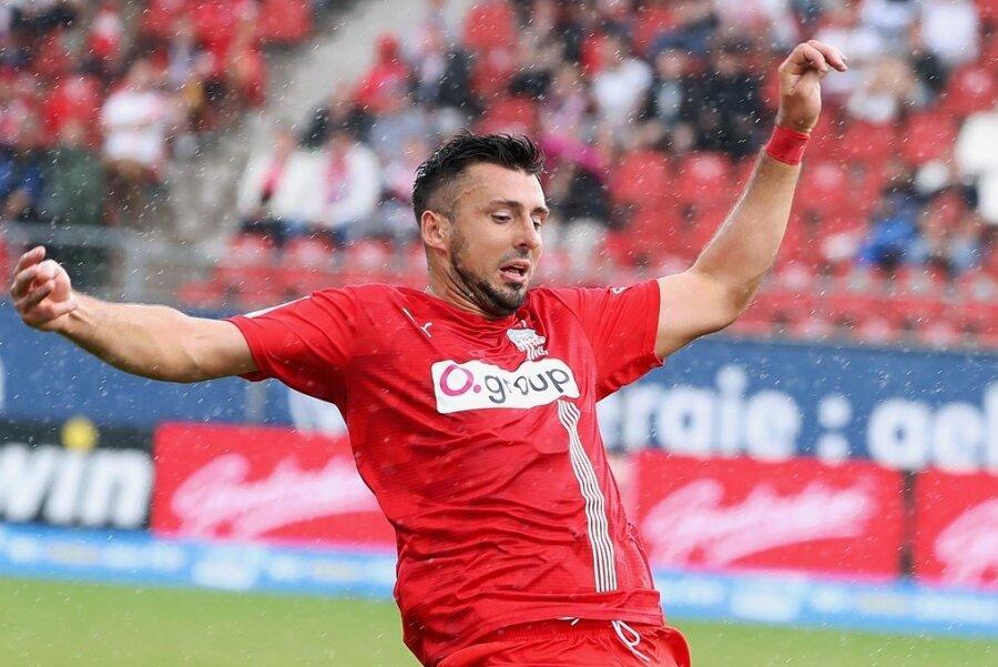 Vizekapitän Davy Frick kehrte in den Abwehrverbund zurück, konnte die Niederlage gegen den SC Verl aber auch nicht verhindern.