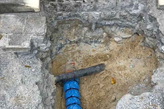 In alle Richtungen verlaufen im Zwickauer Untergrund Rohrleitungen unterschiedlichster Art.