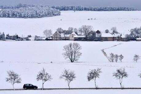Heftiger Wintereinbruch in Sicht - Schnee bis ins Flachland