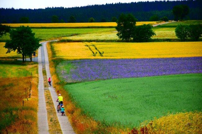 Die unvergleichliche Farbigkeit, aufgenommen bei Mildenau, zeichnet Erik Vogels Wettbewerbsbeitrag aus.