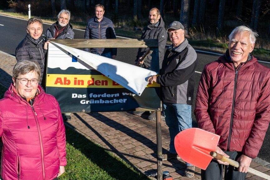 Nach Sieg vor Gericht: Die Grünbacher rüsten ab