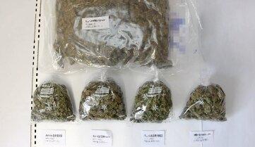 Knapp vier Kilogramm Drogen hat die Polizei am Donnerstag beschlagnahmt.