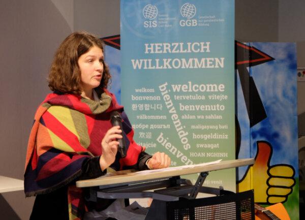 Amélie zu Eulenburg, Leiterin des Arbeitsbereichs Gedenkstätten und Erinnerungskultur bei der Bundesstiftung Aufarbeitung