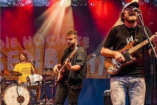 """Im August 2019 veröffentlichte die Band Die Höchste Eisenbahn ihr drittes Album """"Ich glaub dir alles"""". Es stieg auf Platz 17 der deutschen Album-Charts ein."""