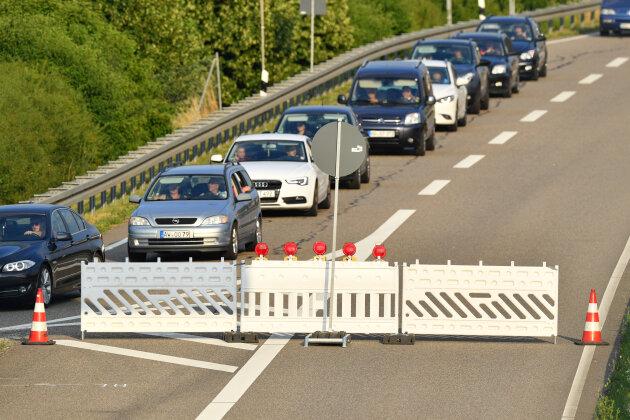Unfall: Autobahn zwischen Treuen und Plauen-Ost dicht