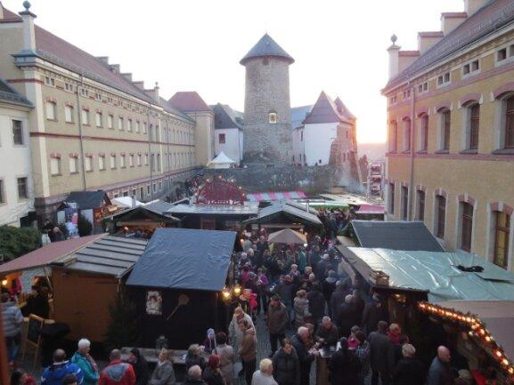 Die historische Schlossweihnacht auf der Voigtsberger Burganlage wird es dieses Jahr am vierten Adventswochenende im gewohnten Bild wie noch im Vorjahr nicht geben