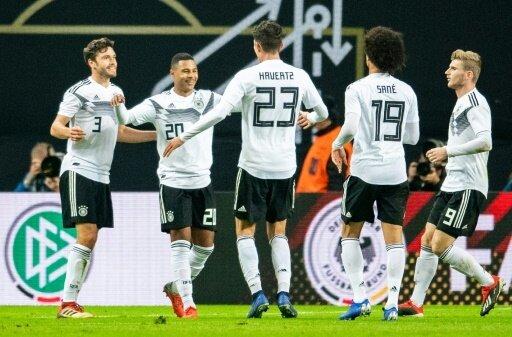 Die Deutschen gewannen in Leipzig gegen Russland