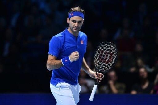 Federer bei ATP-Saisonfinale unter letzten Vier