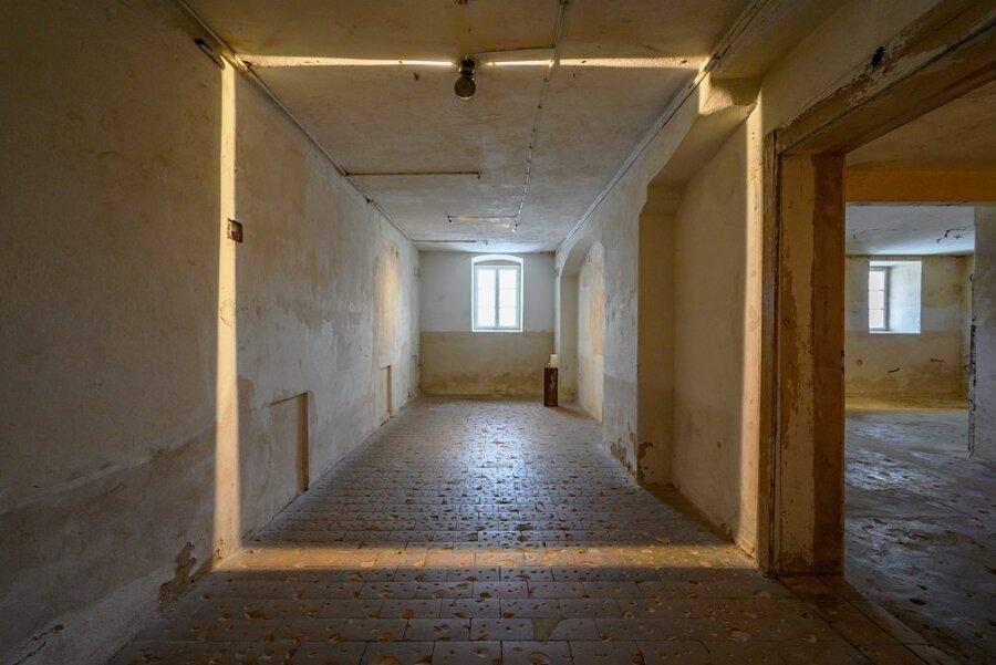 Der Tatort in Pirna-Sonnenstein. In diesem Keller wurden fast 15.000 Menschen vergast.