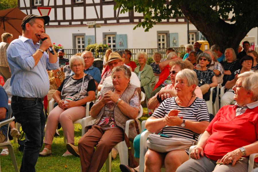 Musikstars bei Open Air in Wiedersberg gefeiert
