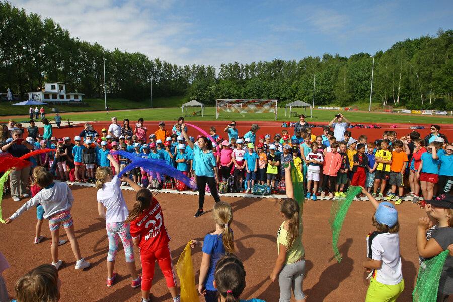 Bunte Vielfalt im Lichtensteiner Sportzentrum
