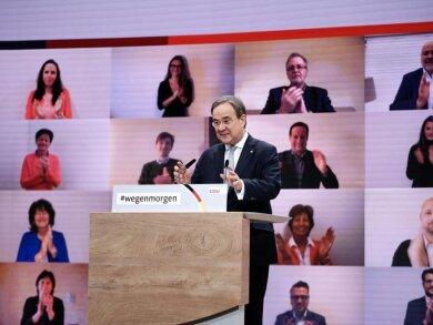 Armin Laschet soll neuer Bundesvorsitzender der CDU werden.