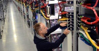 Hetzner Online bietet Speicherkapazitäten für Kunden weltweit.