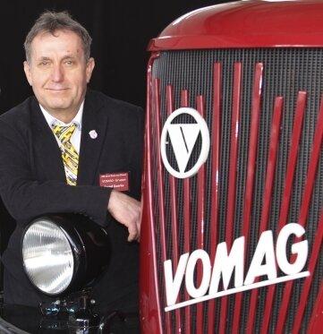Anlässlich 100 Jahre Busproduktion in Plauen waren die Vomag-Fahrzeuge im Vorjahr bereits im Plauener MAN-Werk beim Tag der offenen Tür zu sehen. Im Foto: Bernd Goerke. Nun werden sie wieder gezeigt.