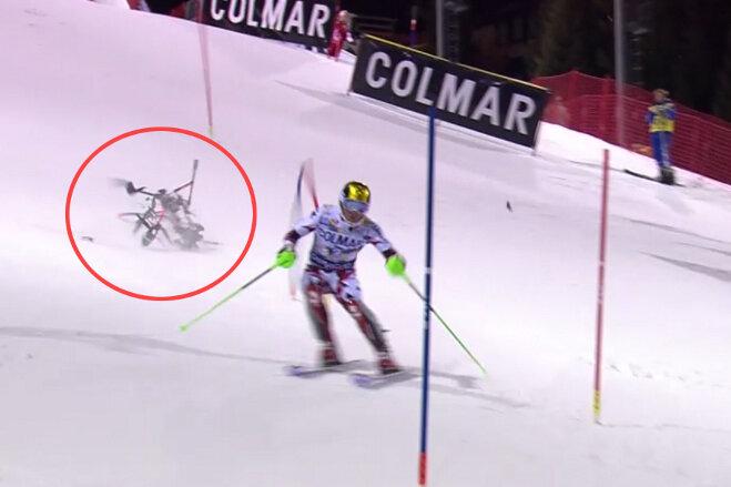 Drohnen-Absturz bei Ski-Rennen facht Sicherheitsdebatte neu an