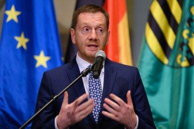 Ministerpräsident Michael Kretschmer.