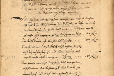 Schriftverkehr zu Gottfried Rübners Zain-, Zeug- und Schaufelhammer in Frohnau 1660-1661.