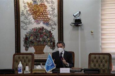 Der Generaldirektor der Internationalen Atomenergiebehörde, Rafael Mariano Grossi, führt Gespräche in Teheran.