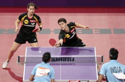 Franziska (r.) und Solja stehen bei der EM im Halbfinale