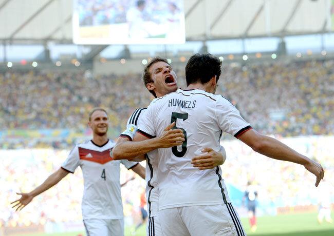 Hummels köpft Deutschland ins WM-Halbfinale