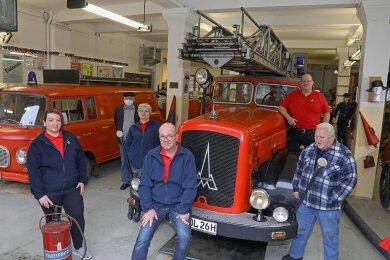 Der Verein Feuerwehrhistorik hat die Regie über das Brandschutzkabinett und das Museum Anfang des Jahres übernommen.