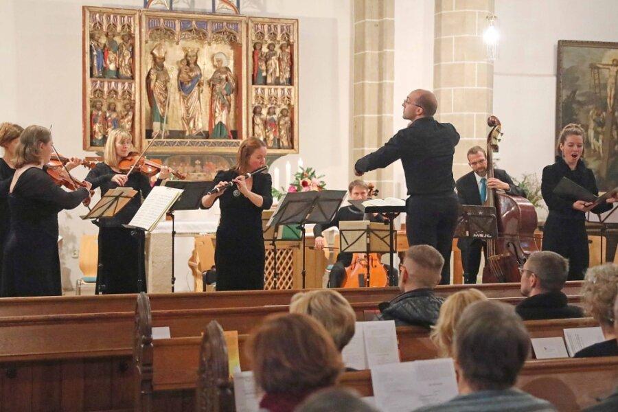 Barockorchester spielt in der St. Laurentiuskirche