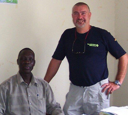 Ehrenfriedersdorfer Spezialist hilft in Haiti