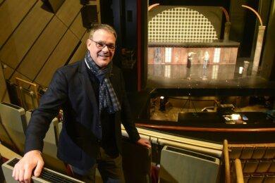 Christoph Dittrich, Generalintendant der Theater Chemnitz, soll die GmbH zur Kulturhauptstadt leiten.